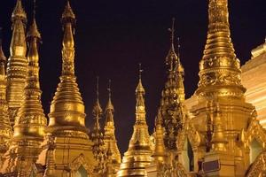 Group of Pagodas in Shwe Dagon Complex