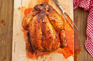 pollo a la parrilla fresco foto