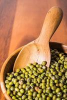 Mung bean in bowl photo