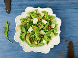 Arugula salad. photo