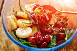vegetarian salad photo