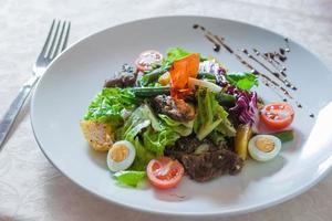 Appetizing salad photo