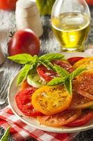 Healthy Heirloom Tomato Salad photo