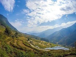 landschap in Vietnam