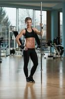 Portrait Of A Physically Fit Young Woman