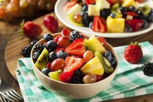 Ensalada de frutas orgánicas heallthy