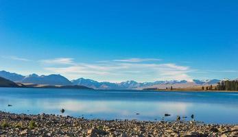landscape in New Zealand photo