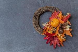 grinalda de outono