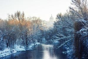 parque de invierno