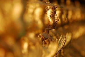 Row of Buddhas photo