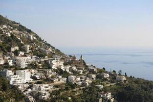 Landscape Conca dei Marini village, Italy