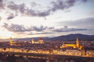 Landscape of the city of Florence photo