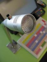 micrófono de comida rápida foto