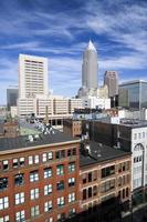 wolkenkrabbers in het centrum van Cleveland
