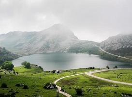 Lake Enol photo