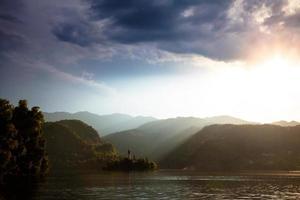 lago sangrado, eslovenia foto