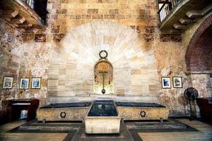 Interior del panteón nacional en Santo Domingo, República Dominicana
