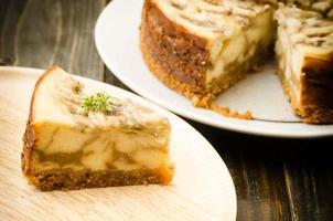 banaan caramel cheesecake