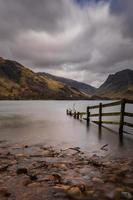 Beautiful View Of Lake Buttermere In The Lake District. photo
