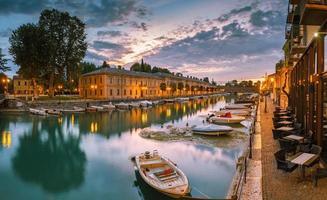 Climate port in Peschiera del Garda on Lake Garda