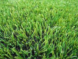 Artificial grass sports playing field