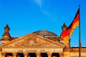 edificio del parlamento, berlín, alemania foto