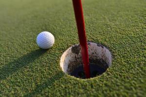 pelota de golf foto
