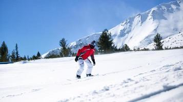 Snowboarding foto