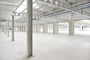 Empty storage depot photo