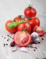 Tomates foto