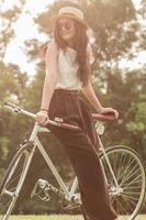 bicicleta fixie foto