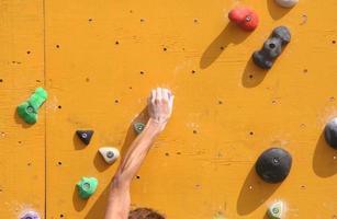 muro de escalada foto