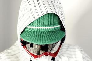 snowboarder detail photo
