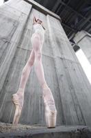 bailarina delgada foto