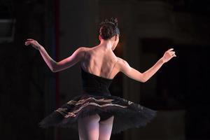 prima bailarina bailando foto