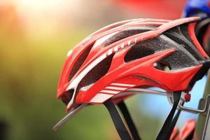 casco de ciclismo foto