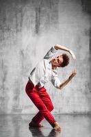 bailarina contemporánea