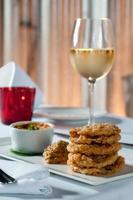 Fried green tomatoes photo