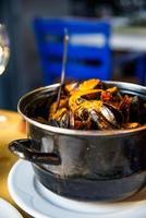 Tomato sauce clams