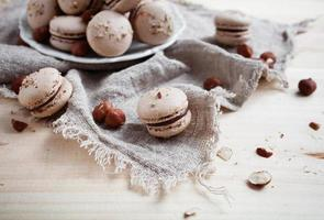 Baking macaroons
