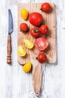 mezcla de tomates foto