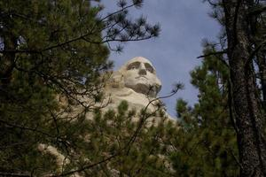 george washington en el monte rushmore