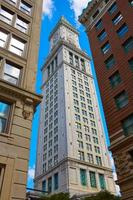 Boston Clock tower Custom House Massachusetts photo