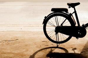 bicicleta vieja foto