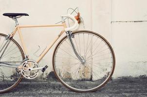 Vintage road bicycle photo