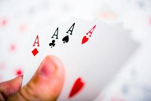 Aces in the Hand photo