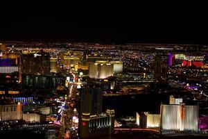 Las Vegas, Nevada, at night photo