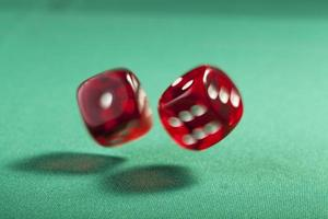 Two Bouncing Dice photo