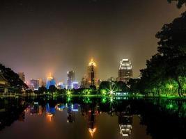 noche bangkok foto