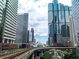 horizonte de la ciudad de bangkok foto